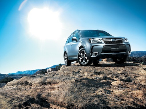 2014 subaru forester xt manual