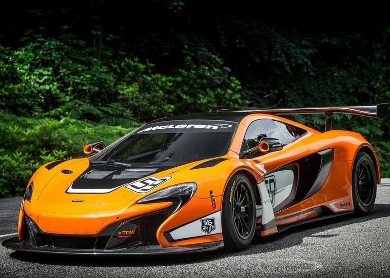 McLaren 650S GT3 mang dáng dấp của nhà vô địch 12C GT3