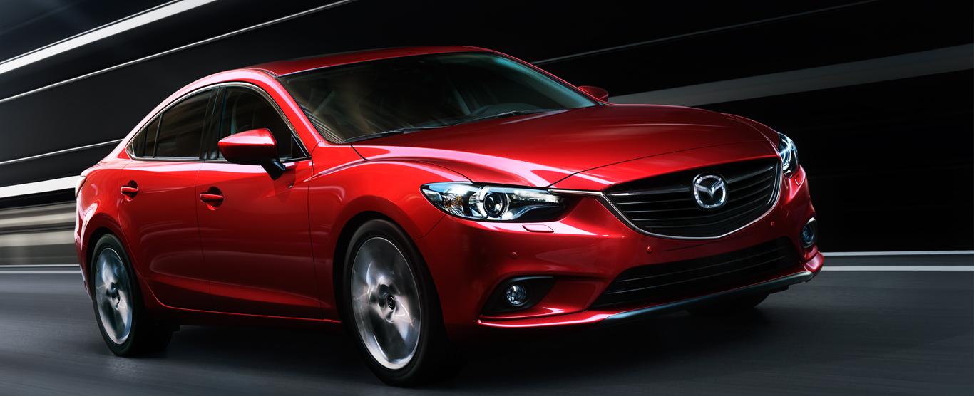 Ngoại thất mềm mại của Mazda 6