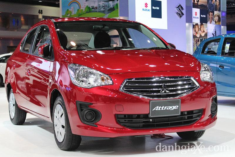 xe sedan giá rẻ Mitsubishi Attrage
