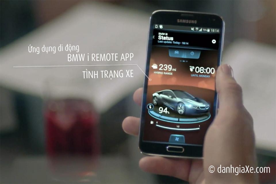 Ứng dụng BMW i REMOTE APP