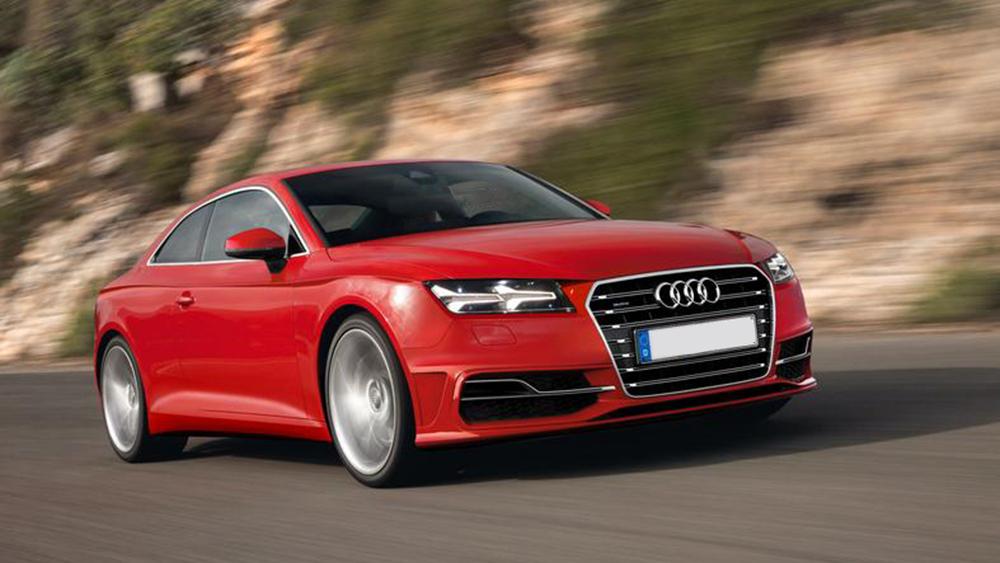 Audi A5 Coupe dự kiến sẽ ra mắt vào năm 2016