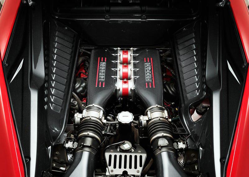 Động cơ Ferrari 458 Speciale Spider