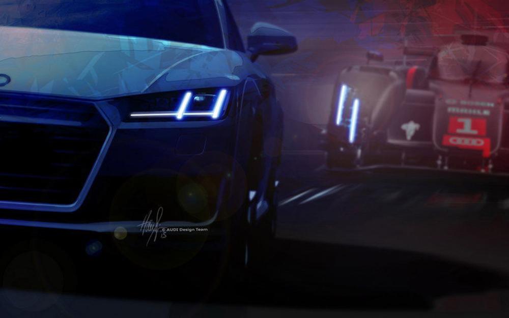 Thiết kế nắp ca-pô giống với Audi R8
