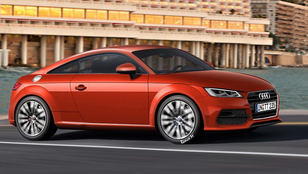 Ngoại thất của Audi TT được thiết kế tinh tế