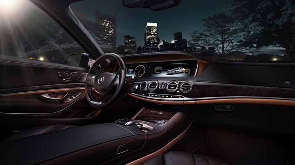 Mercedes-Benz S-Class 2014 sở hữu nhiều công nghệ, thiết bị tiên tiến
