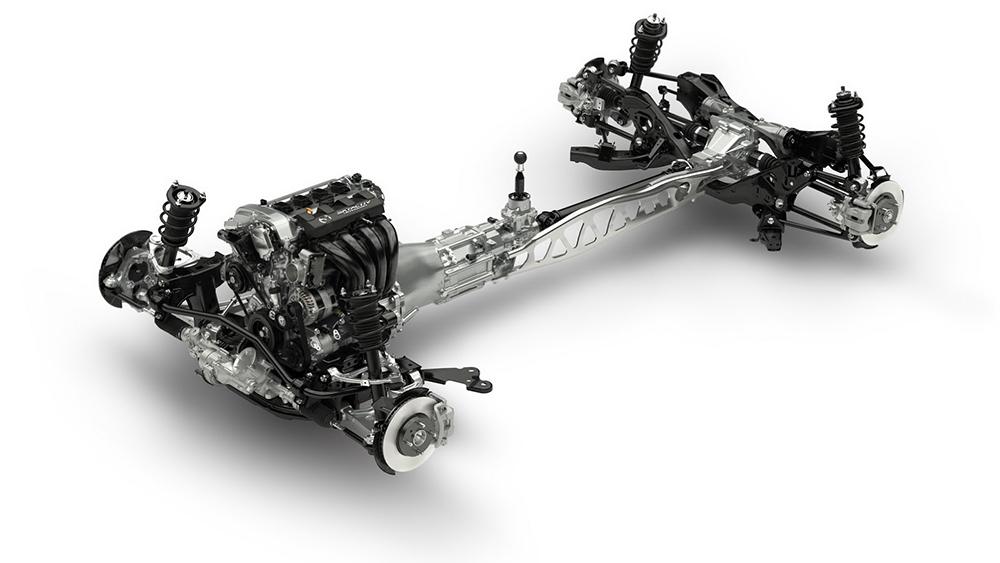 Chiếc Coupe này sử dụng động cơ SKYACTIV-G