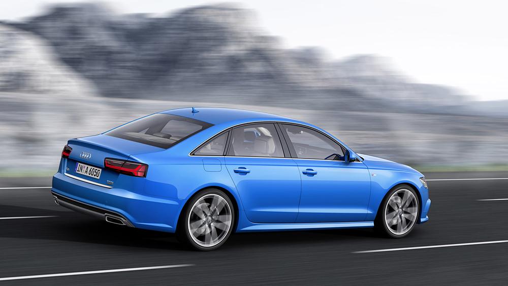 Audi A6 2016 sử dụng hệ thống treo làm bằng sợi thủy tinh cường lực