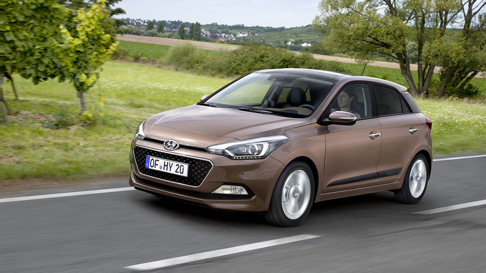 Hyundai supermini i20 sẽ ra mắt tại triển lãm xe hơi Paris 2014