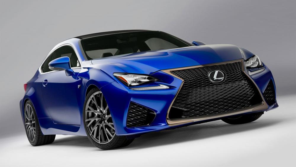 Lexus RC F 2015 sở hữu hàng loạt thay đổi thiết kế và công nghệ
