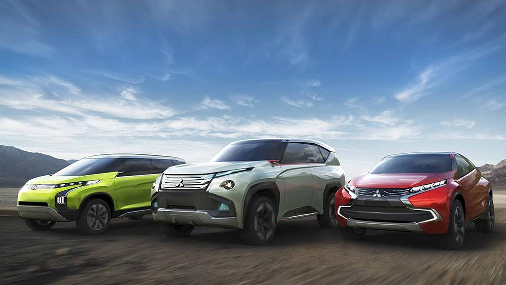 Ba mẫu Concept XR-PHEV, GC-PHEV và AR xuất hiện tại triển lãm xe hơi Tokyo năm 2013