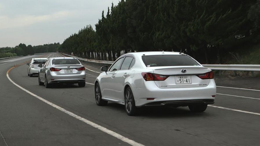 Những chiếc xe của Toyota trong cuộc thử nghiệm công nghệ an toàn mới