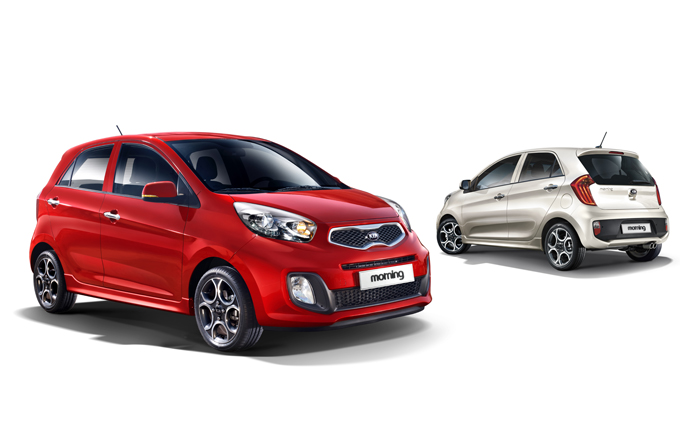 kia morning hyundai i10