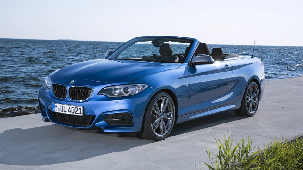 BMW M235i Convertible có khả năng tăng tốc 0-100 km/h trong vòng 5,0 giây
