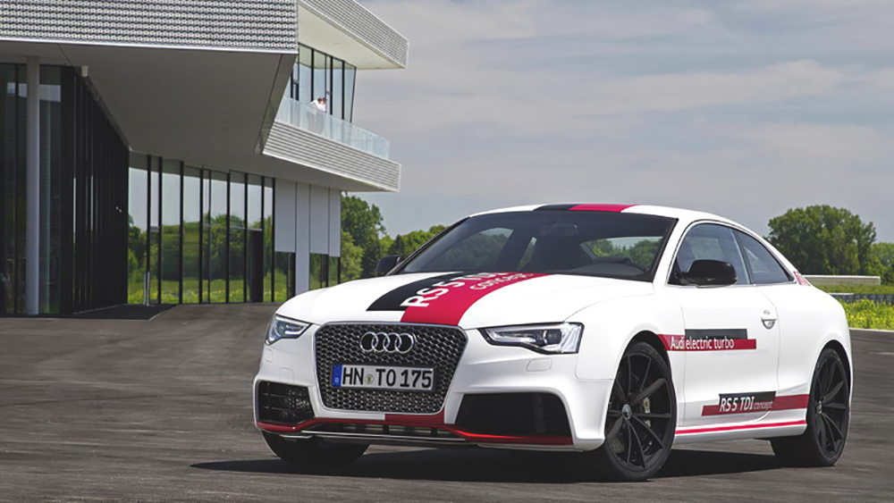 Coupe thể thao Audi RS5 TDI Concept 2014