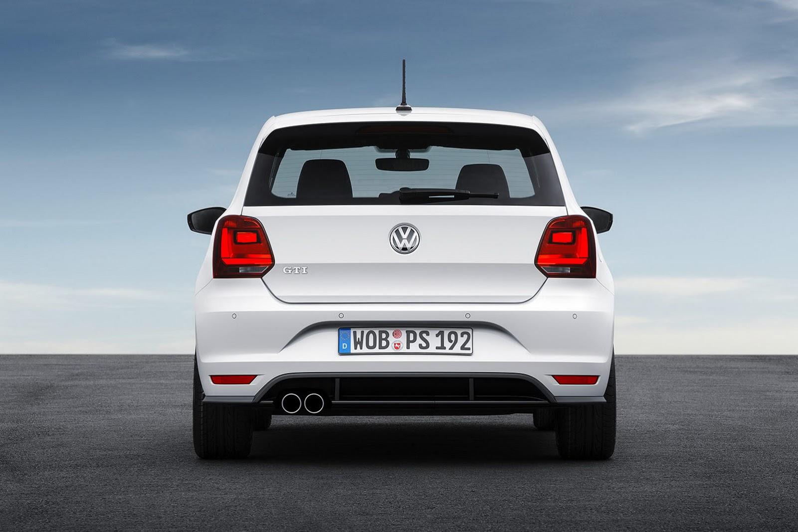 VW Polo GTI 2015 có thiết kế ít thay đổi so với phiên bản hiện nay