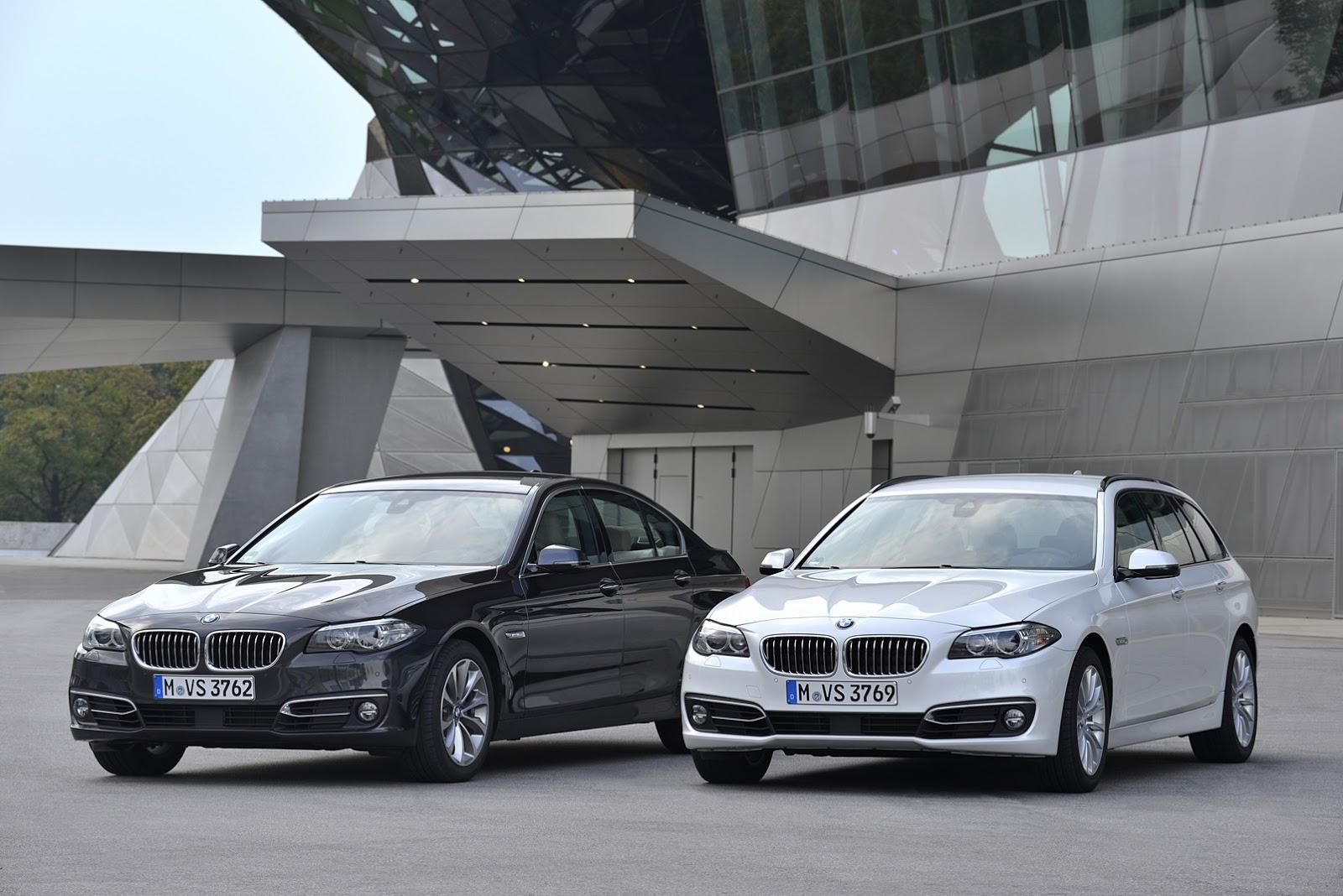 BMW 518d và 520d sử dụng thế hệ động cơ Diesel 2.0L mới