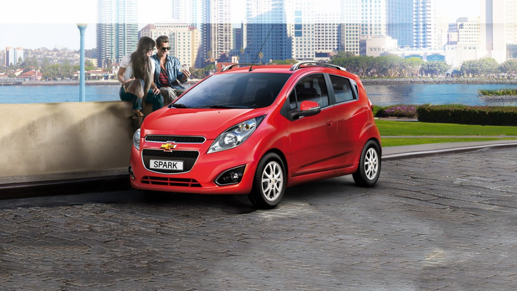 Các phân khúc ô tô ở Việt Nam - Hạng A - Chevrolet Spark