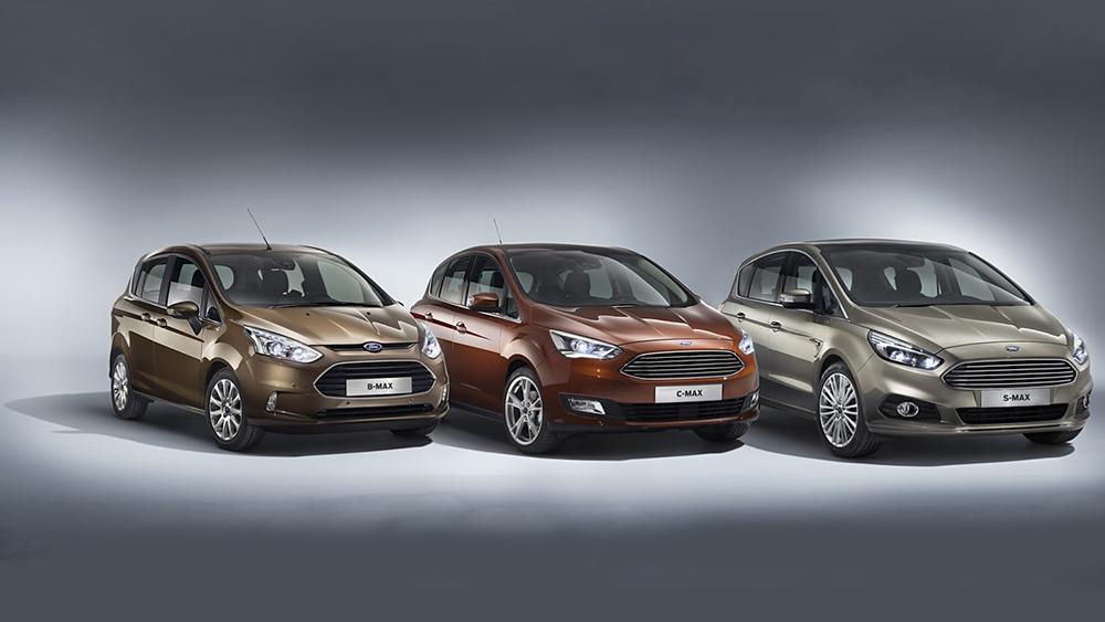 Ford ra mắt hai phiên bản facelift của C-MAX và Grand C-MAX