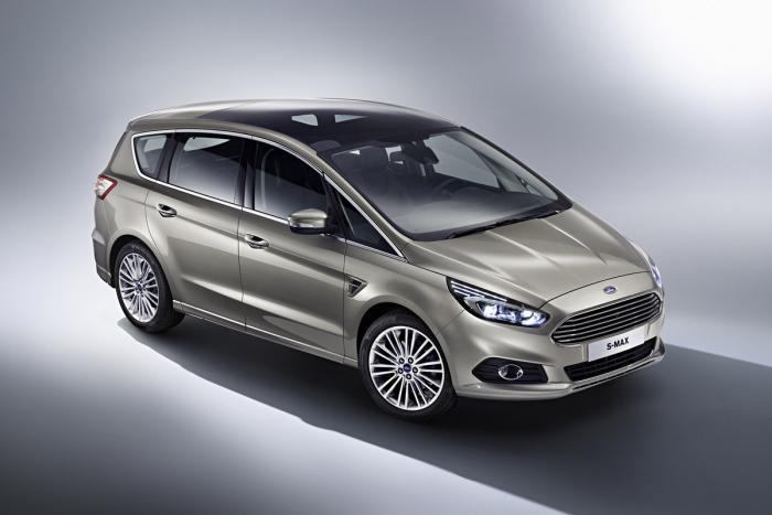 Ford S-MAX 2015 sẽ được phát hành với năm phiên bản