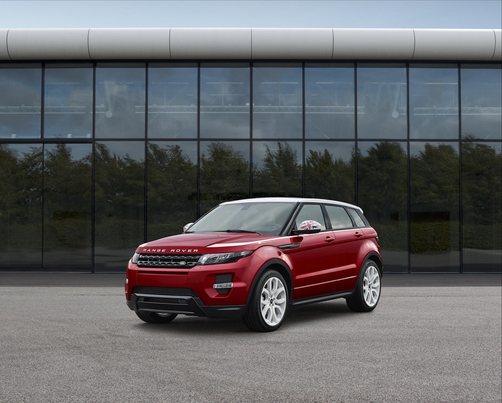 Land Rover ra mắt phiên bản đặc biệt SW1 của dòng SUV hạng sang Range Rover Evoque