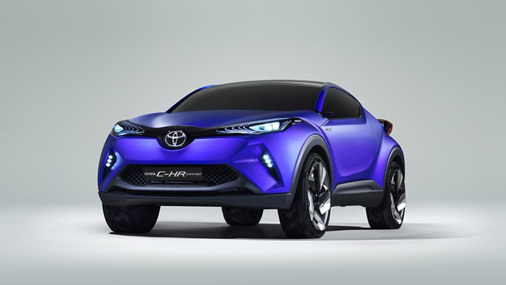 C-HR sẽ ra mắt chính thức tại triển lãm xe hơi Paris 2014 diễn ra vào tháng sau