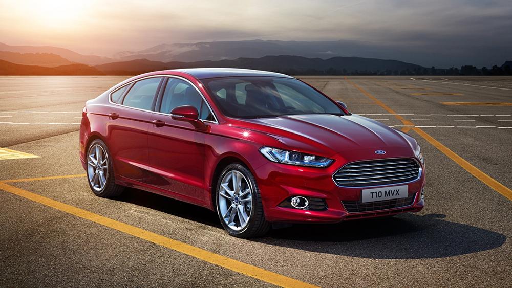 Ford Mondeo 2015 ra mắt với 8 phiên bản động cơ