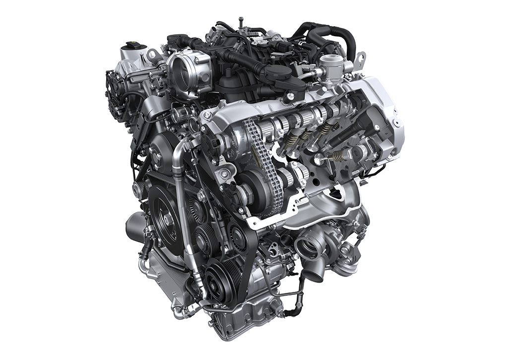 Động cơ tăng áp V6 3.0L trên Porsche Cayenne S E Hybrid