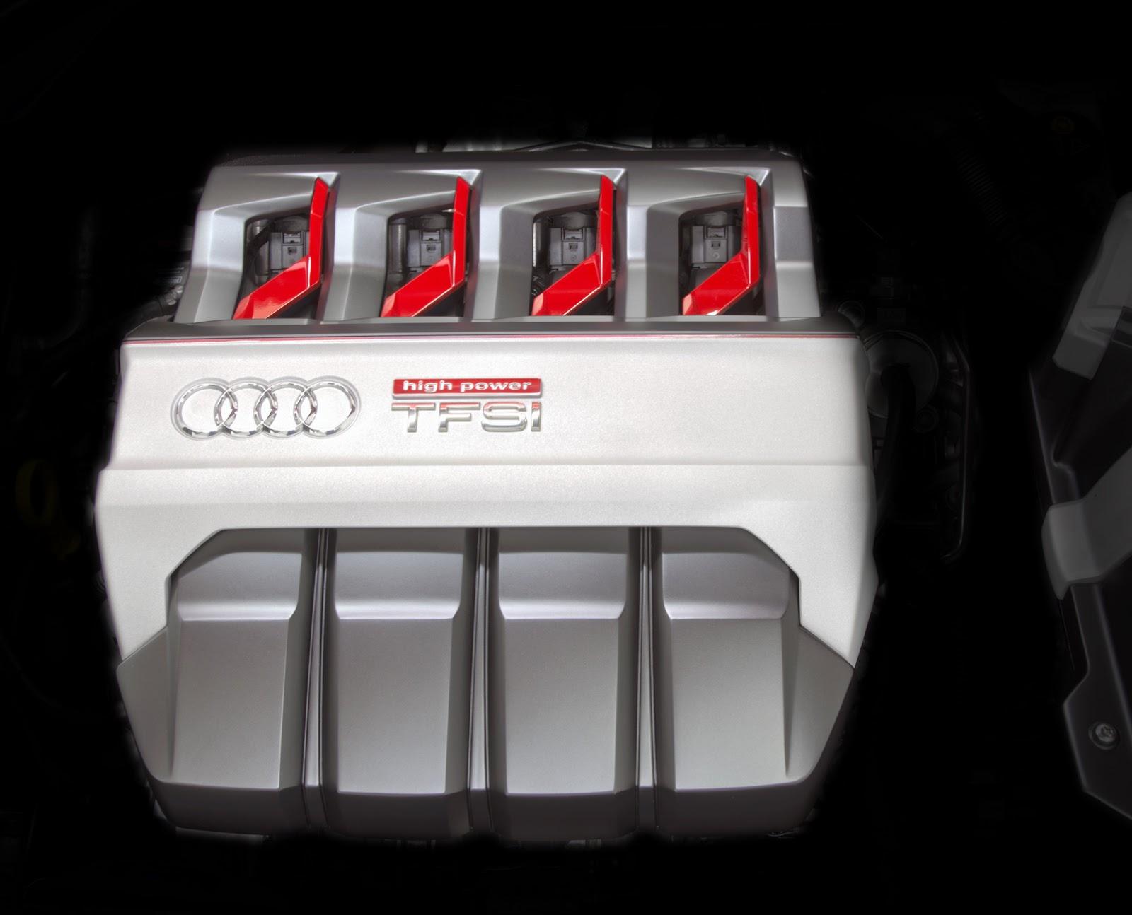 Mẫu Concept này được trang bị động cơ xăng tăng áp TFSI 2.0L