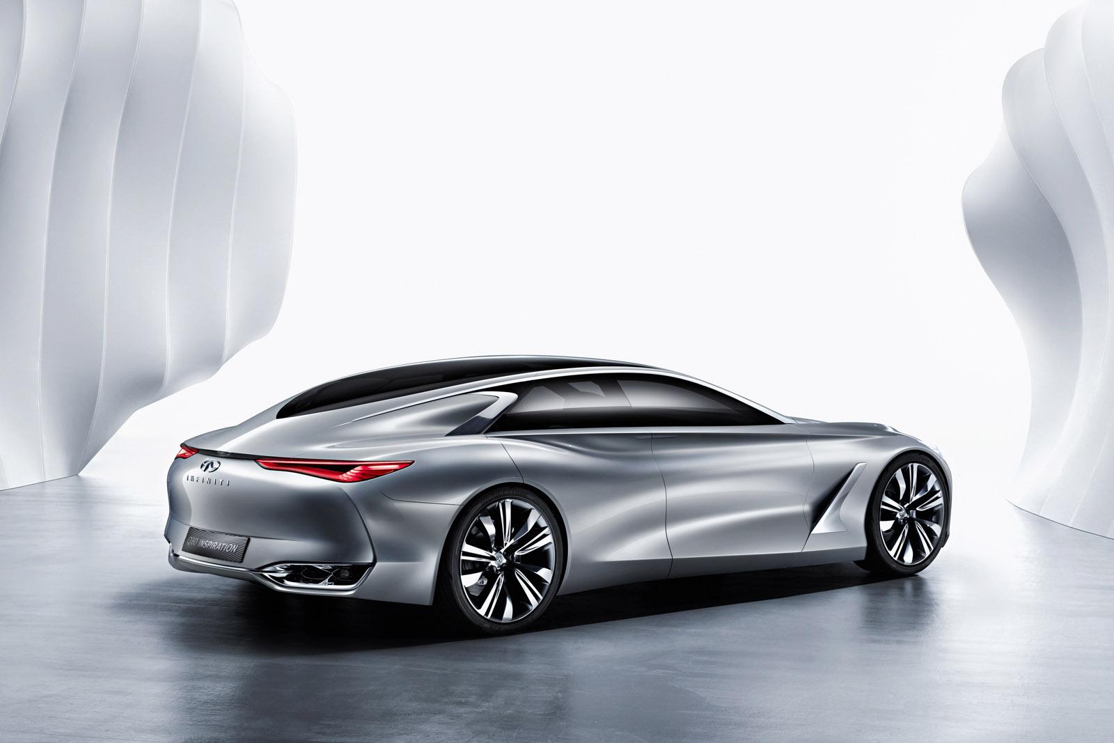 Q80 Inspiration Concept có thiết kế đậm nét thể thao