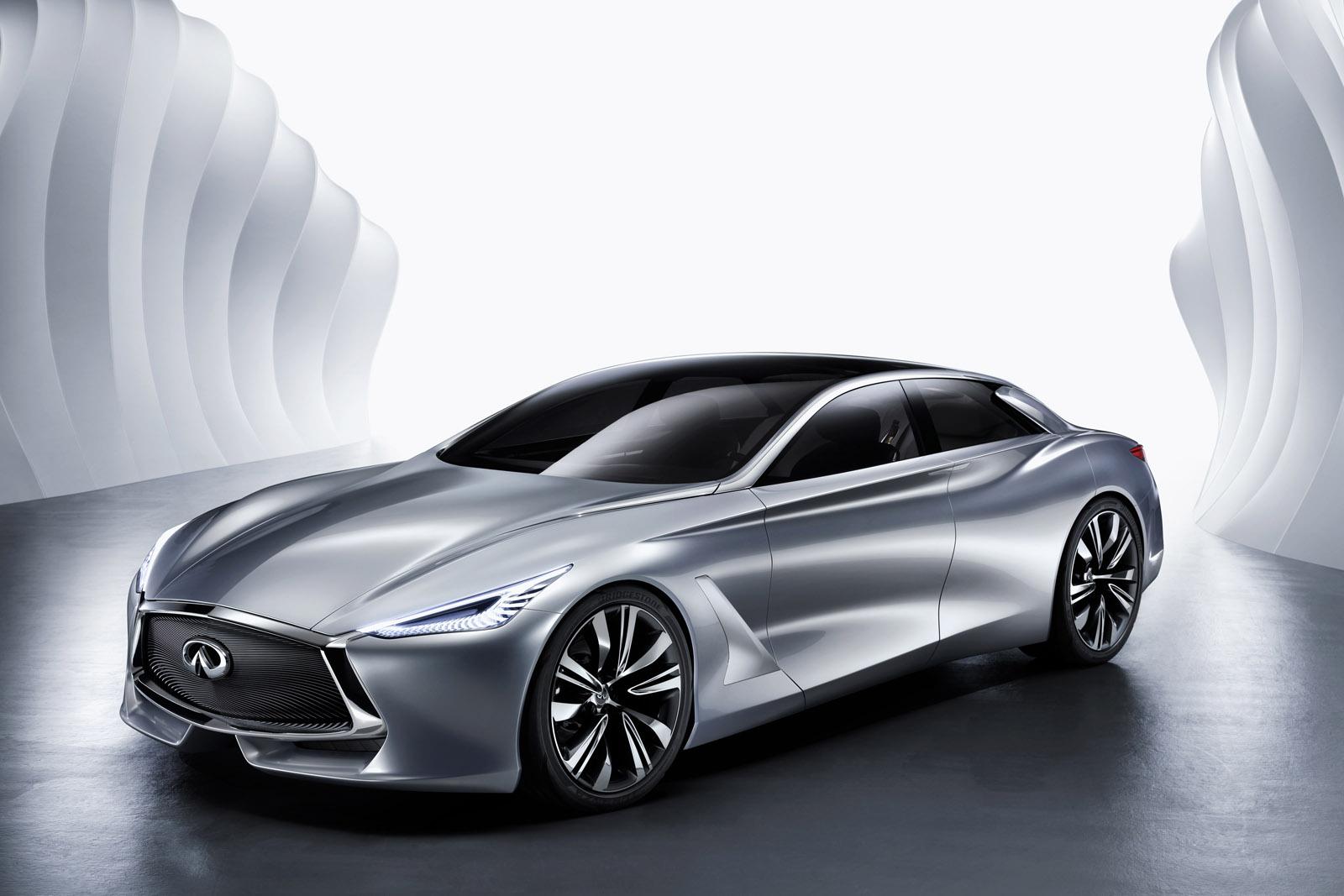 Infiniti vừa ra mắt chính thức mẫu Q80 Inspiration Concept tại triển lãm xe hơi Paris 2014
