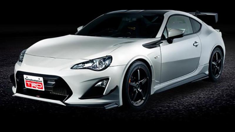 Toyota vừa giới thiệu chính thức mẫu Coupe thể thao GT 86 14R60 2014