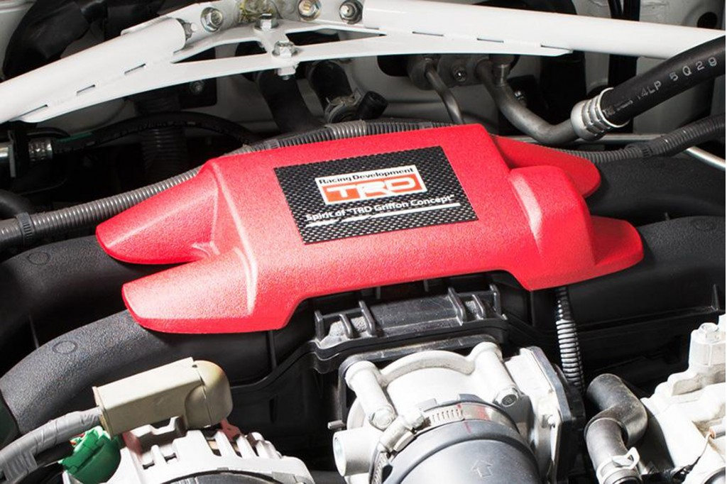 Toyota GT 86 14R60 2014 sử dụng động cơ boxer 4 xy-lanh có dung tích 2.0L