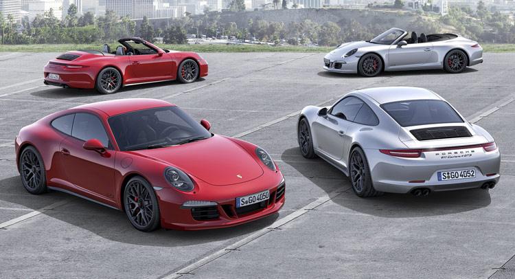 Porsche ra mắt bốn phiên bản 911 GTS 2015