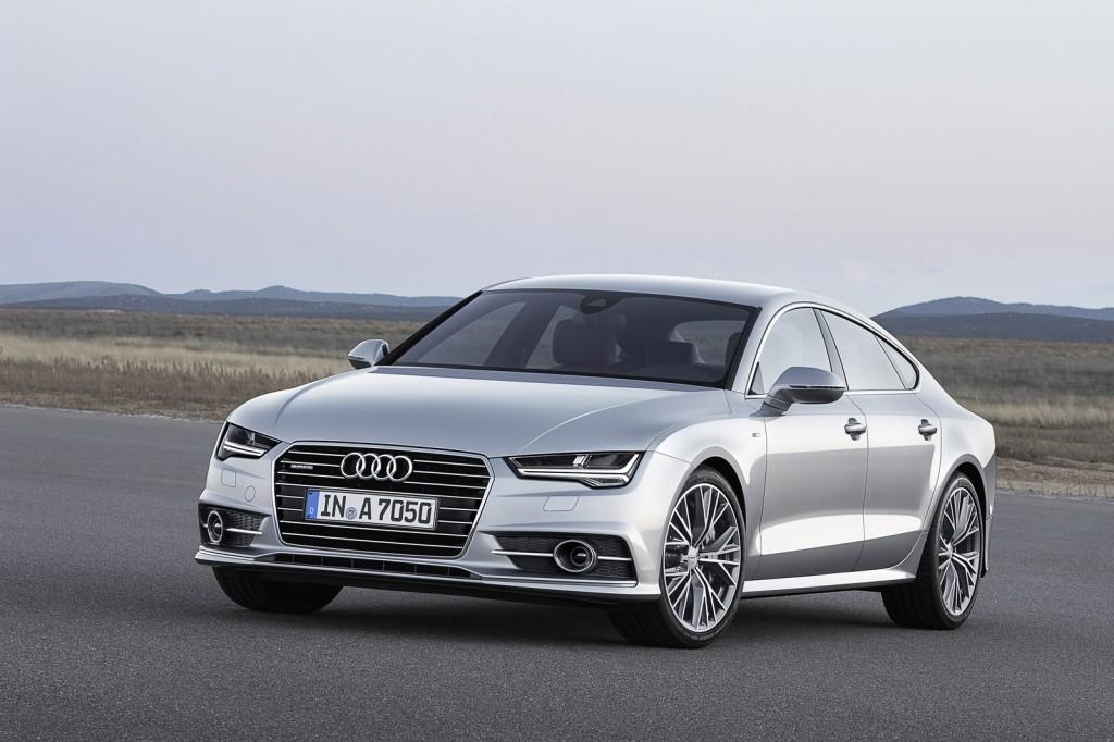 Audi A7 Facellift 2016 có một số thay đổi nhỏ so với phiên bản hiện tại