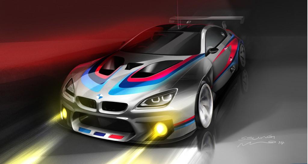 BMW giới thiệu hình ảnh Tease của M6 GT3 Coupe