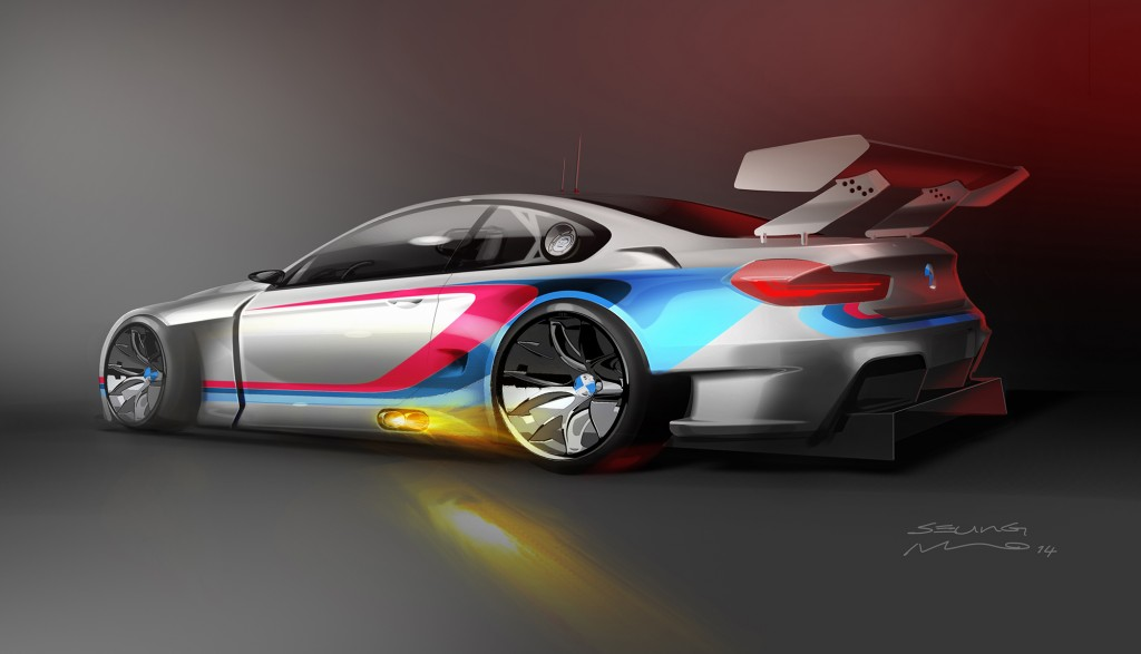 BMW M6 GT3 Coupe thiết kế đậm nét thể thao từ bộ kít của M Division