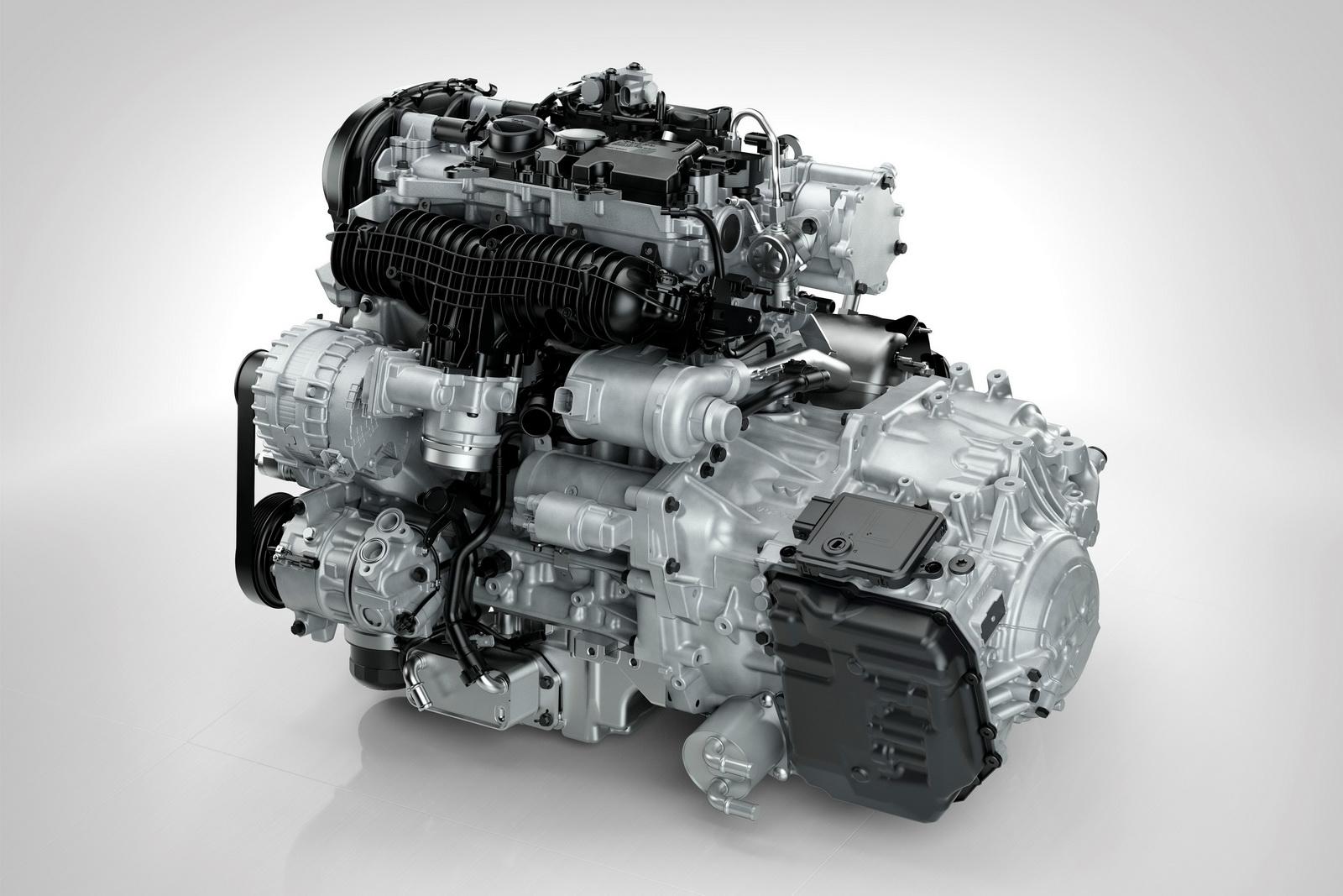 Động cơ xăng tăng áp Drive-E T5 cải tiến, có công suất 245 mã lực