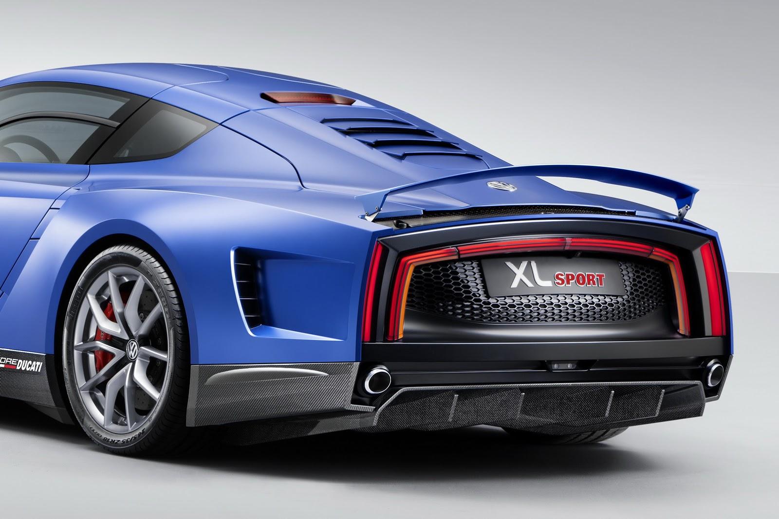 Volkswagen vừa giới thiệu một mẫu Concept hiệu suất cao có tên là XL Sport tại triển lãm xe hơi Paris 2014