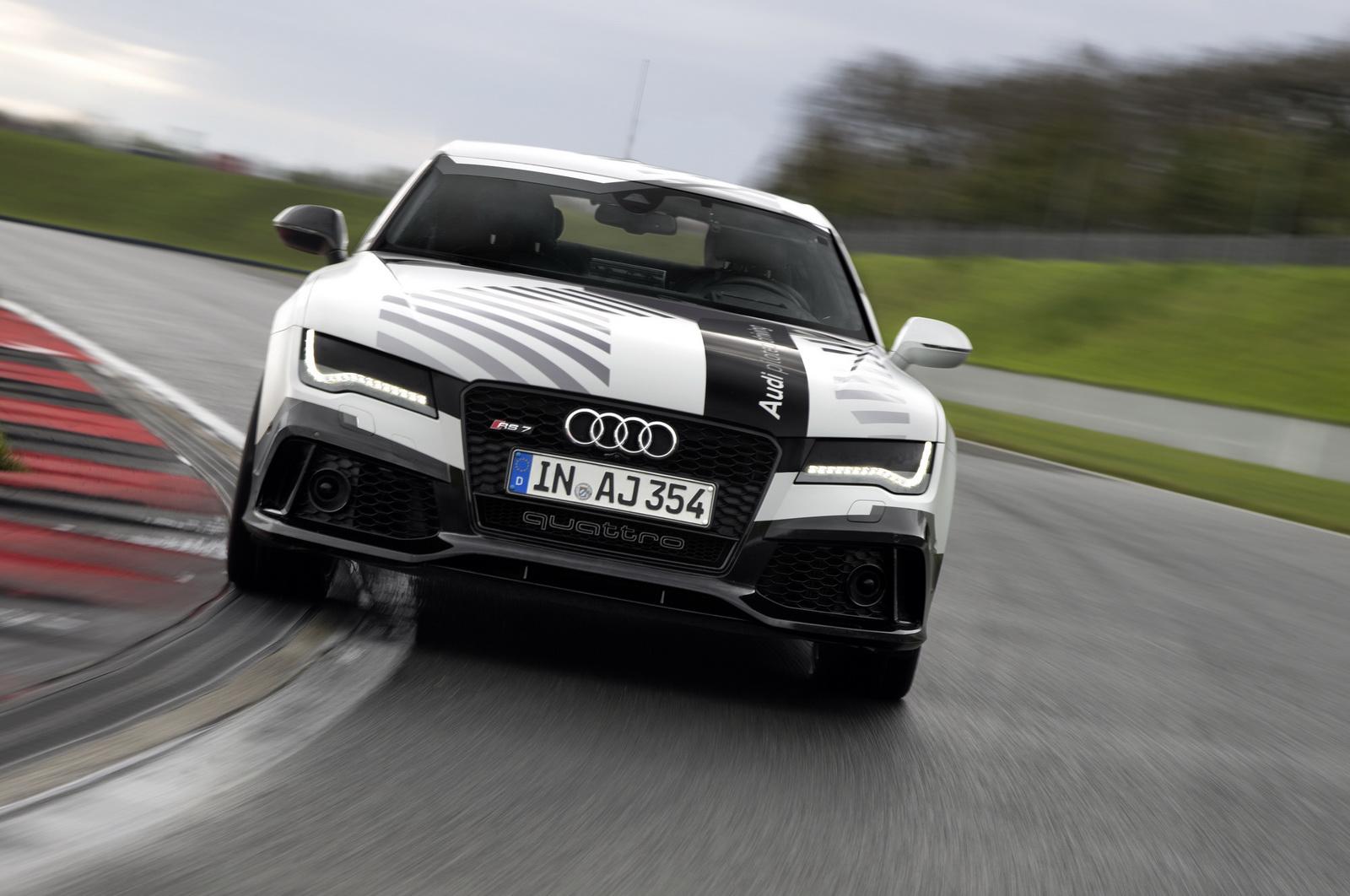 Audi RS7 Concept có thiết kế thể thao và trang bị động cơ có công suất lên đến 552 mã lực