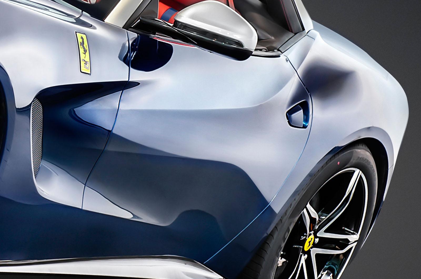 Siêu xe F60 America có nhiều chi tiết thiết kế độc đáo
