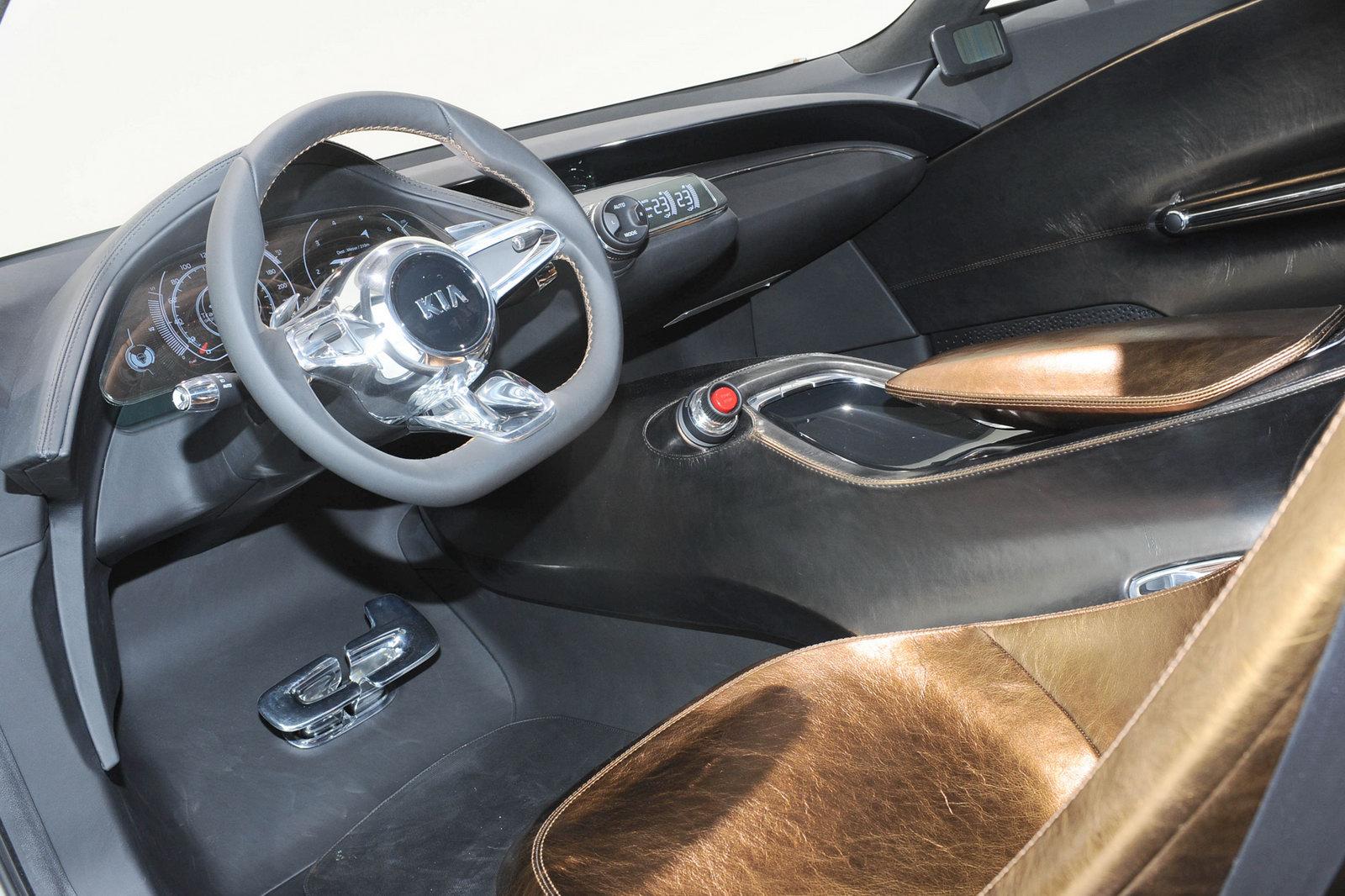 Thiết kế tinh tế của KIA GT Concept