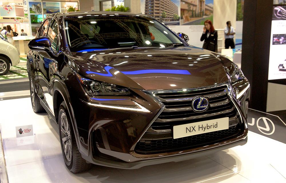 Lexus NX ra mắt tại triển lãm IGEM 2014 diễn ra tại Malaysia