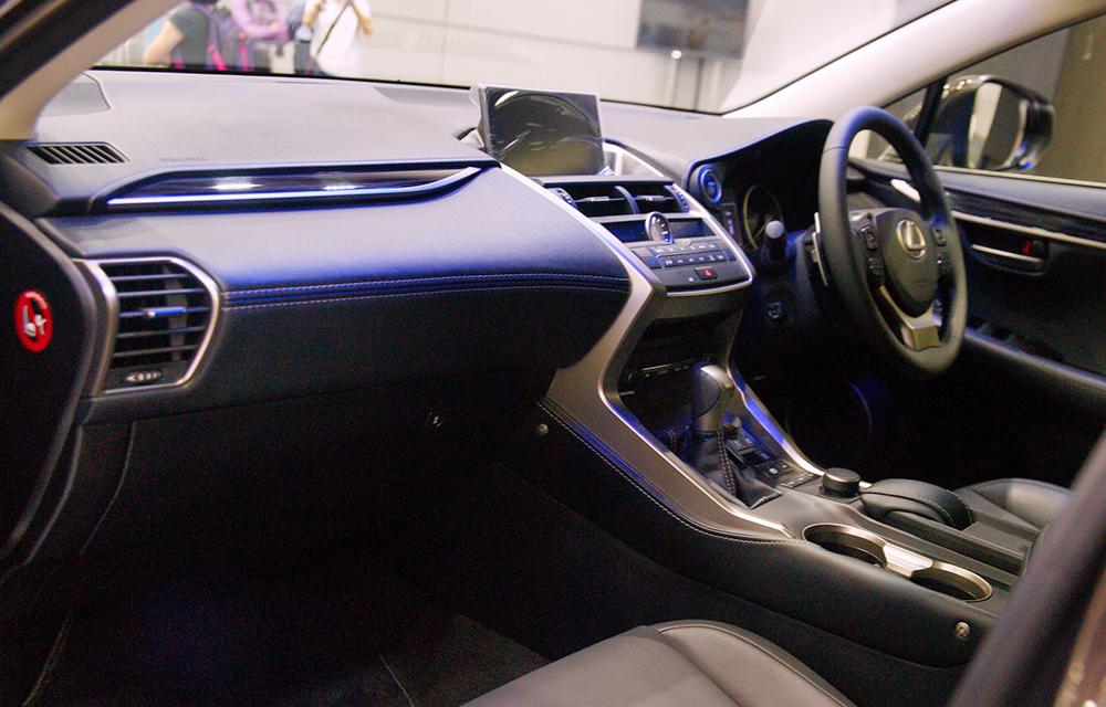 Nội thất Lexus NX 300h sang trọng