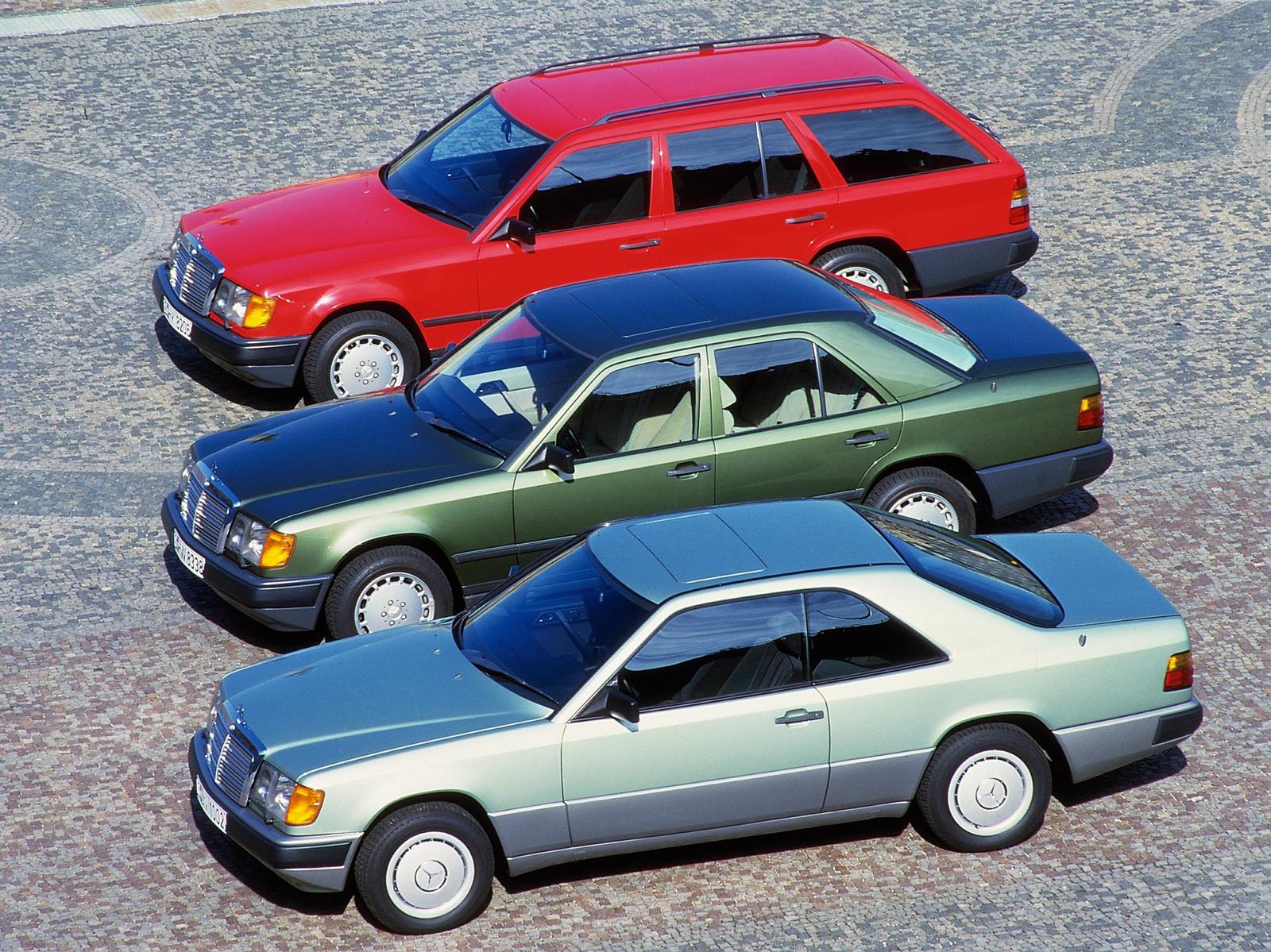 124 là dòng xe đa dạng nhất trong lịch sử của Mercedes
