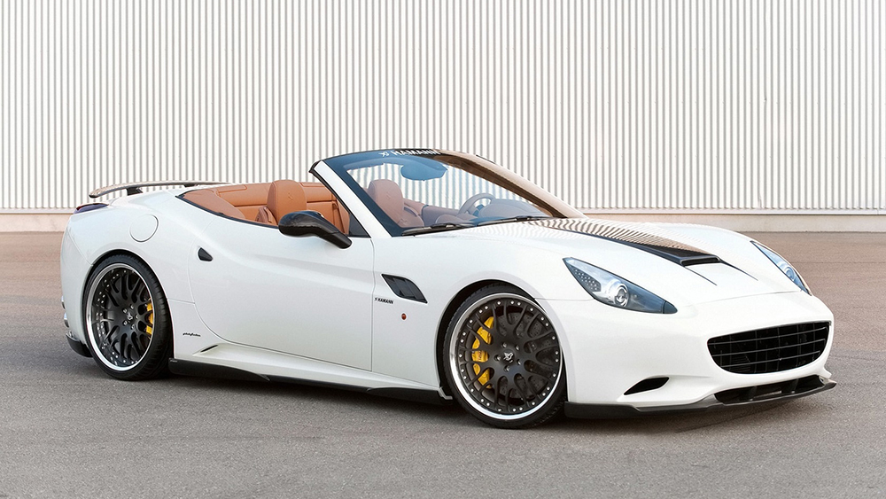 Thiết kế tinh tế, sang trọng của siêu xe Ferrari California