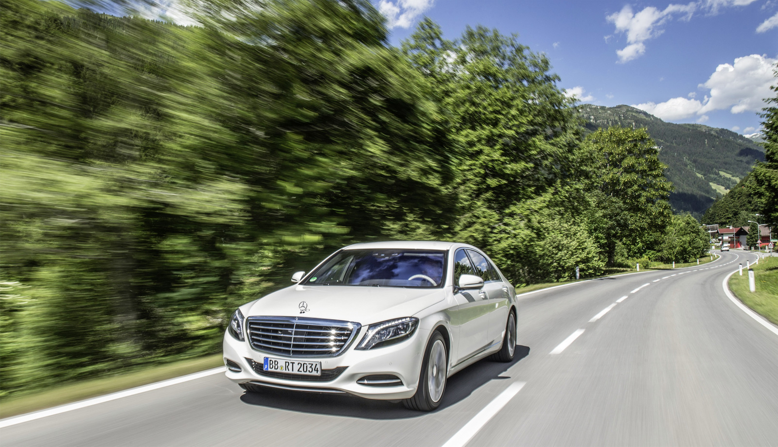 Mercedes-Benz S550 Plug-in Hybrid