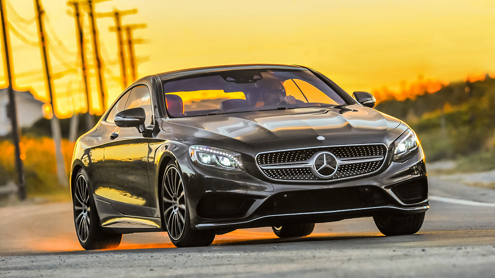 Mercedes S550 4Matic Coupe 2015