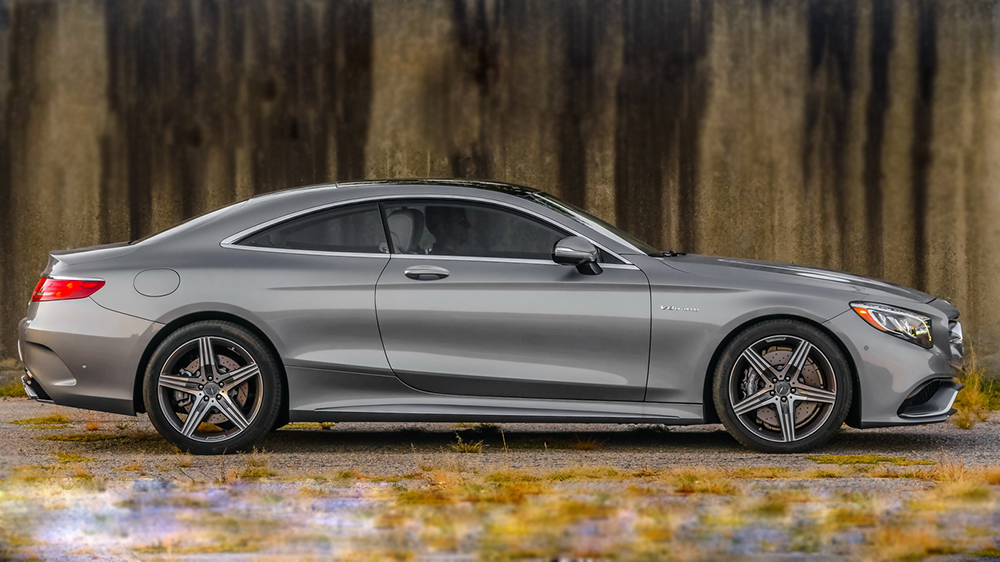 Mercedes S63 AMG Coupe 2015