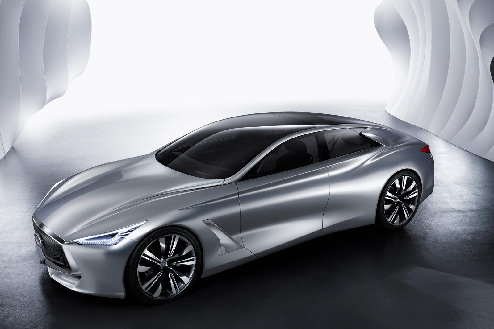 Infiniti Q80 ra mắt tại triển lãm xe hơi Paris 2014